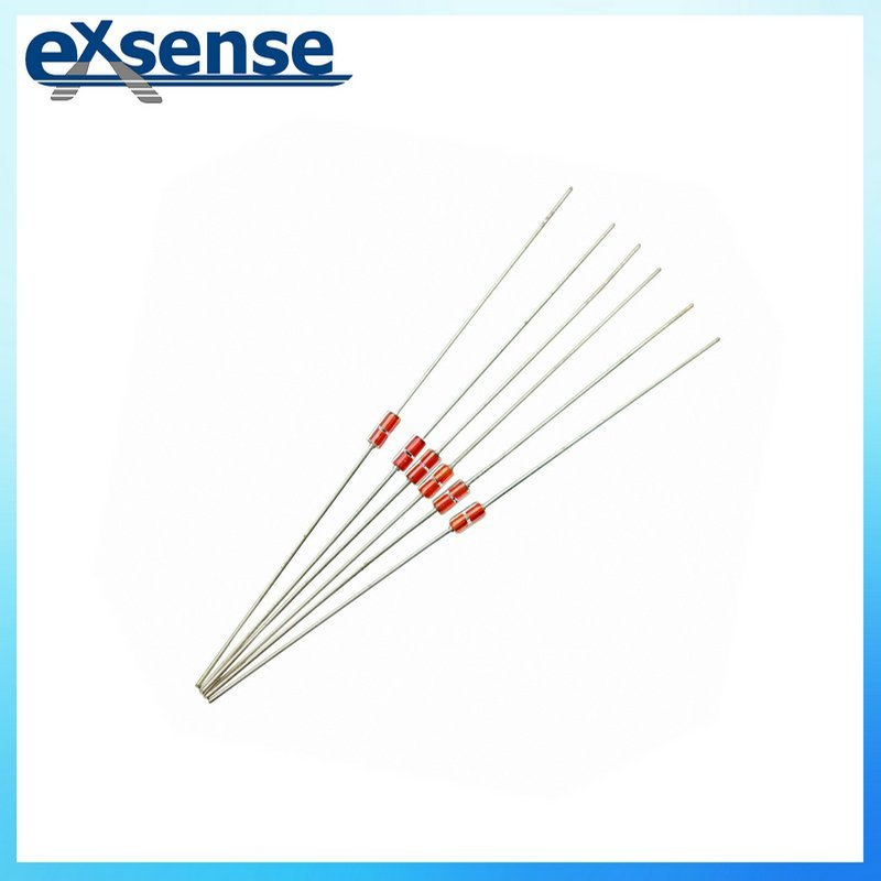 Axial glass sealed NTC thermistor for christmas lamp